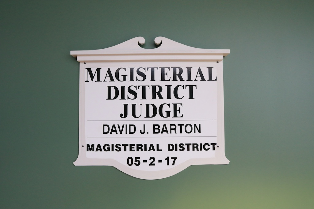 Magisterial District Court (Judge David Barton)