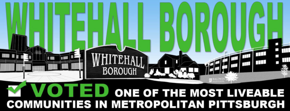Most Liveable Community Whitehall Borough Web Banner